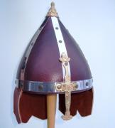 5111101 Шлем кожаный с подвесами р-р 50-52
