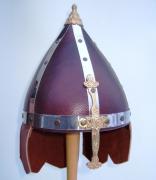 5111102 Шлем кожаный с подвесами р-р 53-55