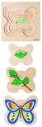 522014 Многослойный пазл «Бабочка»  Educo