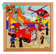 522073 Пазл «Пожарные машины»  Educo