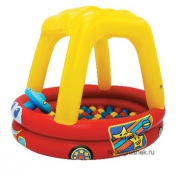 """5277 Надувной игровой центр с шарами """"Машинка"""" Moose Mountain"""