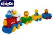 65803 Поезд с животными Chicco