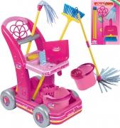 """6778 Игровой набор для девочки """"Набор для уборки розовый"""" Faro"""