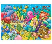 215 Развивающая игра - Пазл «Кто живет в море?» +3 Orchard To