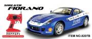 8207B Радиоуправляемая машина MJX Ferrari 599 GTB Fiorano PANAMERICAN (1:10)