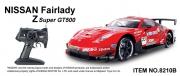 8210B Радиоуправляемая машина MJX R/C MJX Nissan GT500 (1:10)