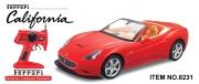 8231 Радиоуправляемая машина MJX Ferrari California (1:10)