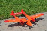 8804 Радиоуправляемый самолет Wentoys Dark Blue/Red Devil