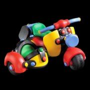 89017 Конструктор Мотоцикл с коляской — Mic-o-Mic