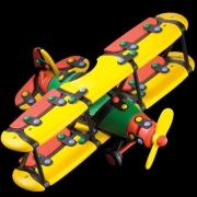 89026 Конструктор Самолет Большой Биплан — Mic-o-Mic