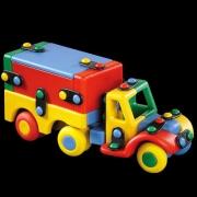 89177 Конструктор Грузовик с фургоном — Mic-o-Mic