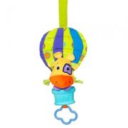 """8974-1 Развивающая музыкальная подвеска """"Воздушный шар с жирафчиком"""" Bright Stars"""