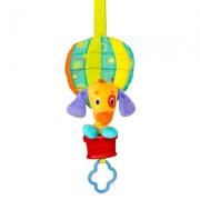 """8974-2 Развивающая музыкальная подвеска """"Воздушный шар с собачкой"""" Bright Stars"""