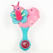 8989 Развивающая интерактивная музыкальная игрушка «Сердечко с бабочкой», розовая Bright Stars