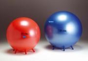 89/55 Мяч-стул красный для сидения и фитнеса Фитбол 55 см LedraPlastic