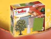 900 Декоративные дополнения: газон, гравий, земля, дерево, Teifoc