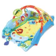 """9011 Коврик с бортикам """"Удивительное сафари"""" (7 игрушек, зеркало, подушечка, 20 мелодий и звуков) Bright Stars"""