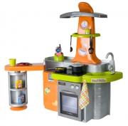 90510 Кухня, оранжевая, с приставкой звук и свет эффекты Coloma