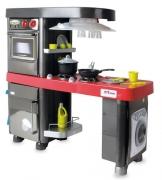 90581-01 Кухня, 5 модулей, красная столешница Coloma