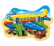 273 Развивающая игра - Напольный пазл «Большой самолет» +3 Or