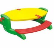 """FY101-11 Детский столик со скамейкой """"Винни-пикник"""""""
