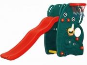 """JM-706W Горка """"Слон"""" с баскетбольным кольцом Happy Box"""