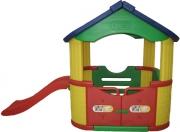 JM-802B Игровой домик с горкой Happy Box
