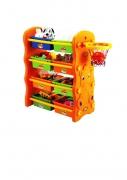 KU-1701 Игровой шкафчик с баскетбольным кольцом Edu-Play