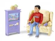 "LC66225 Игровой набор ""Папа и телевизор"" Caring Corners"