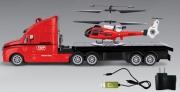 P701A Набор радиоуправляемый тягач и вертолет Pheoni