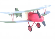 RC12392 Авиамодель р/у Albatros D. V, электро, RTF