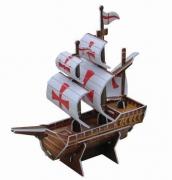 SP01-0006 «Корабль «Санта Мария» мал. Scholas