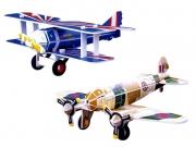SP01-0017 «Самолеты Спад 13 и Хейнкель ХЕ- 111» (Scholas