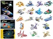 SP02-0036  «Космические корабли» Scholas