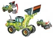 SP04-0060 «Трактор-погрузчик» Scholas