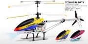 T23 Радиоуправляемый вертолет MJX i-Heli Thunderbird c гироскопом