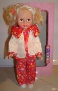 Кукла Злата в пижамке